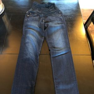 AG maternity jeans- barely worn